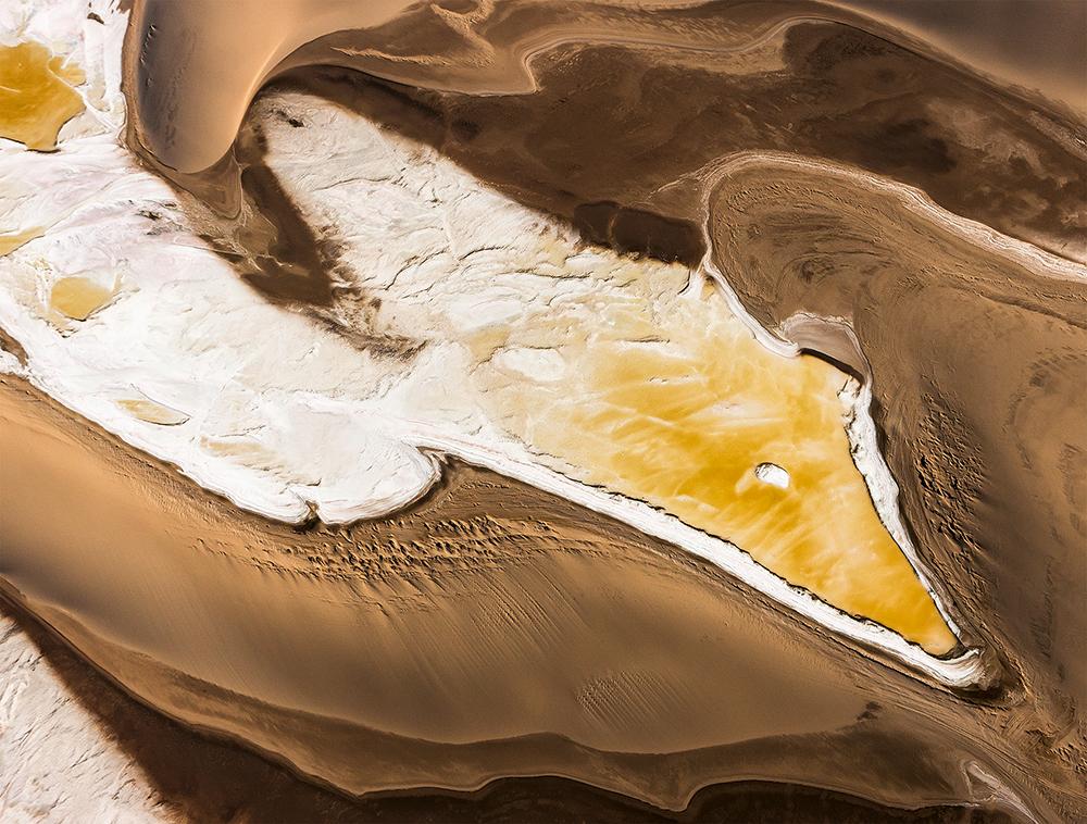 A bird's-eye view of the dunes near Walvis Bay  Photo © 2018 Michael Poliza. All rights reserved.  www.michaelpoliza.com