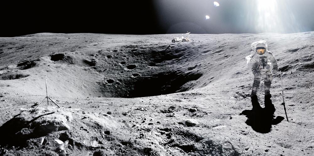 Apollo 16  Photo © courtesy of The National Aeronautics and Space Administration (NASA) photographic archives