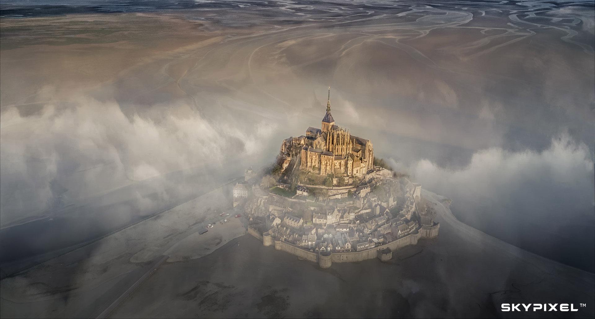 2018 SkyPixel Contest-Photo Group-Grand Prize-Mont Saint Michel