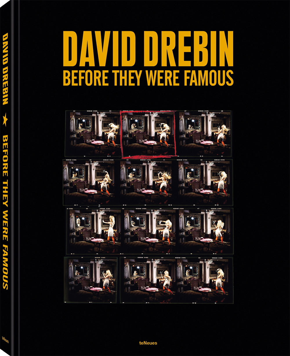 © Before They Were Famous by David Drebin, published by teNeues, € 120,  www.teneues.com , Photographing Herself, 2009,  Photo © 2019 David Drebin. All rights reserved.