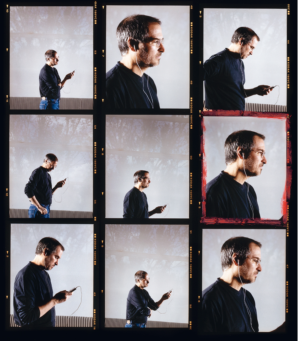 Steve Jobs, 2001  Photo © 2019 David Drebin. All rights reserved.