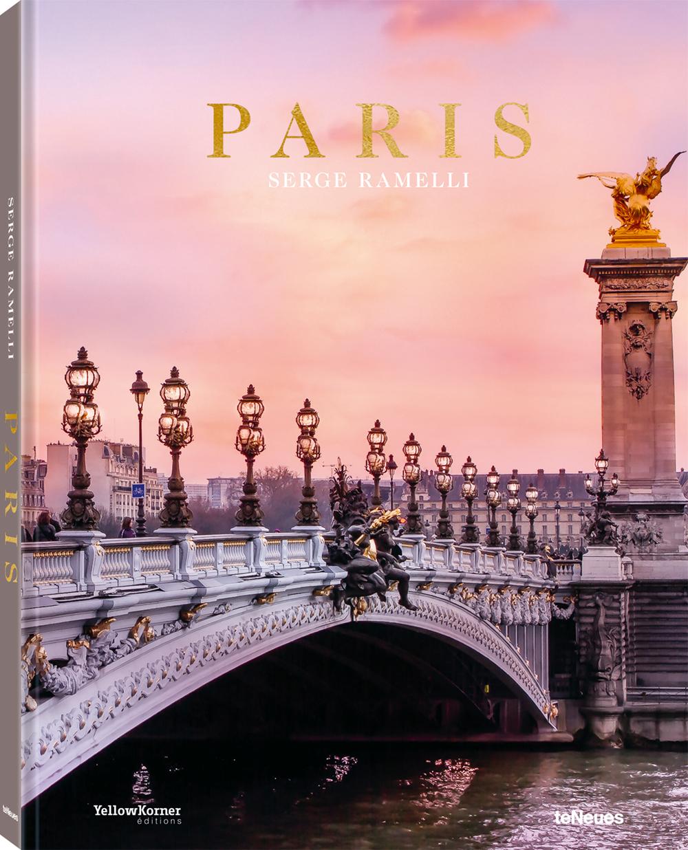 © Paris von Serge Ramelli, erschienen bei teNeues, € 39,90, www.teneues.com , Die Pont Alexandre III ist ein Relikt der Weltausstellung im Jahr 1900 , Photo © 2019 Serge Ramelli. All rights reserved.
