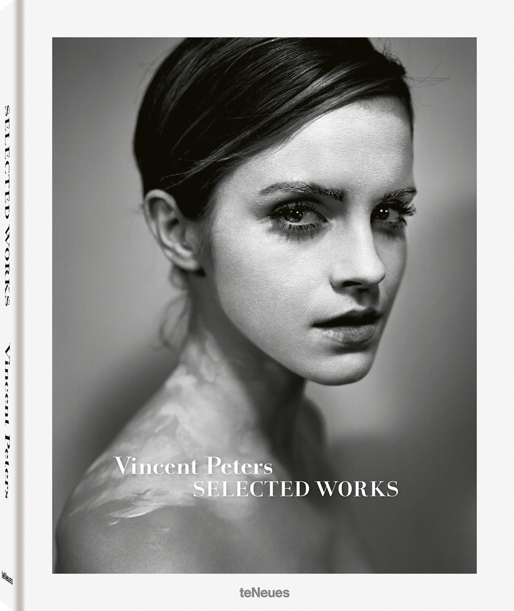 © Selected Works by Vincent Peters, published by teNeues, € 30,  www.teneues.com ,  Emma Watson, London,  Photo © Vincent Peters. All rights reserved.