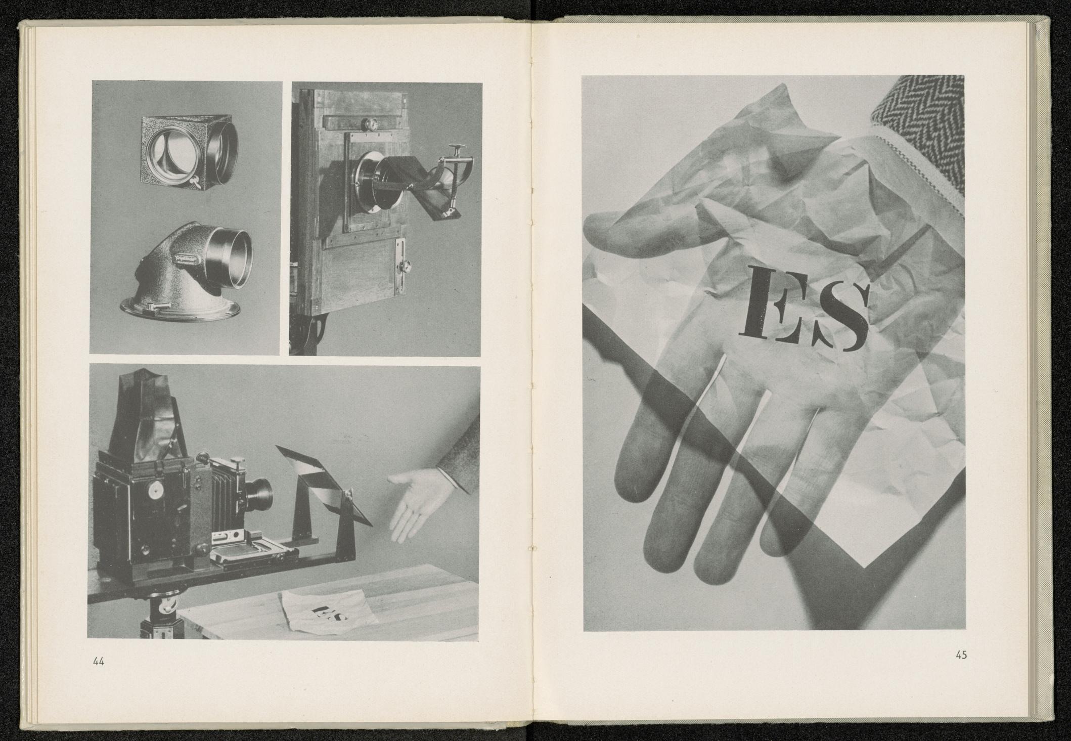 Otto Croy Es liegt auf der Hand, Aus: Fotomontage. Der Weg zu den Grenzen der Fotografie, Halle (Saale): Wilhelm Knapp [1937]