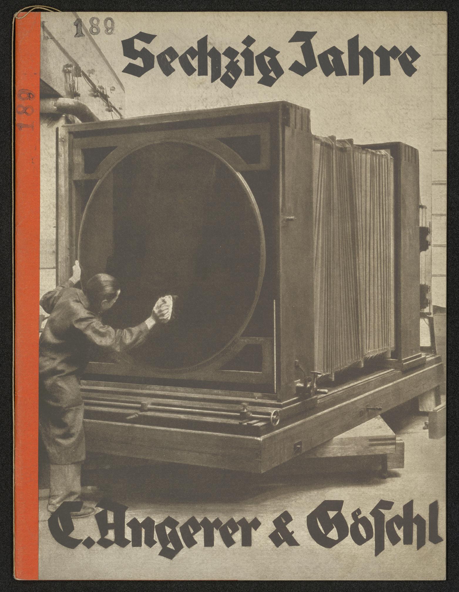 C. Angerer & Göschl Wien Bucheinband zu Sechzig Jahre, [Wien: ohne Verlag 1932]