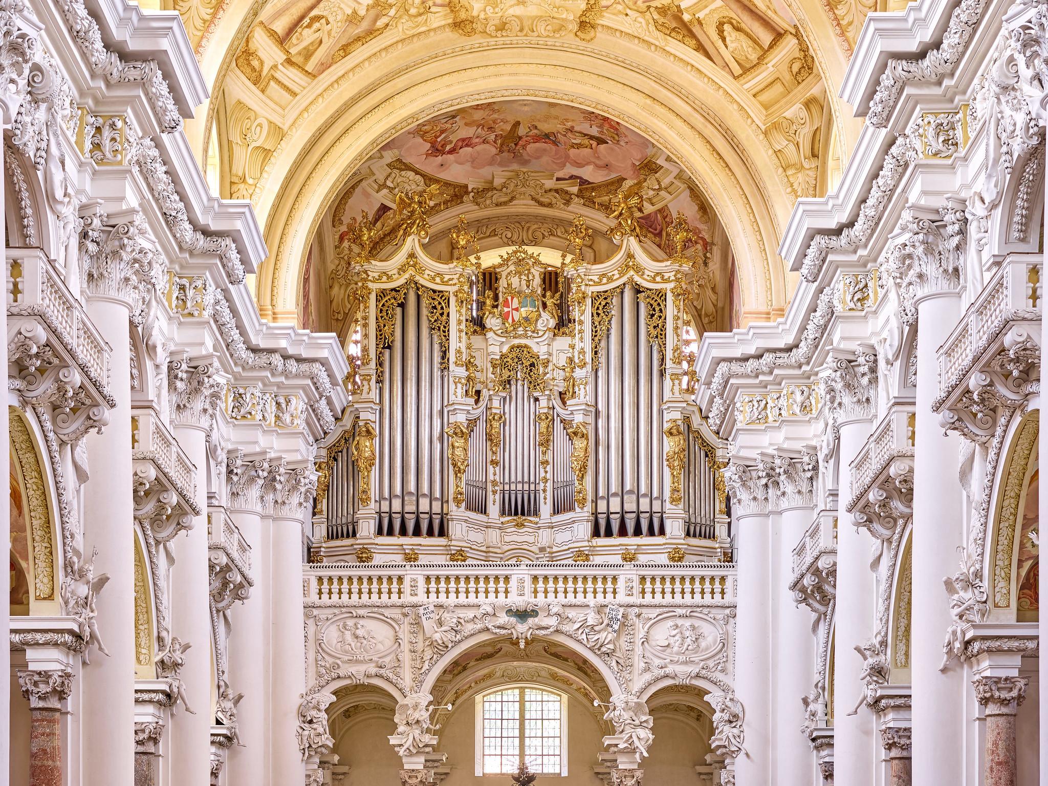 Brucknerorgel Stift St. Florian / Fotocredit: Pedagrafie