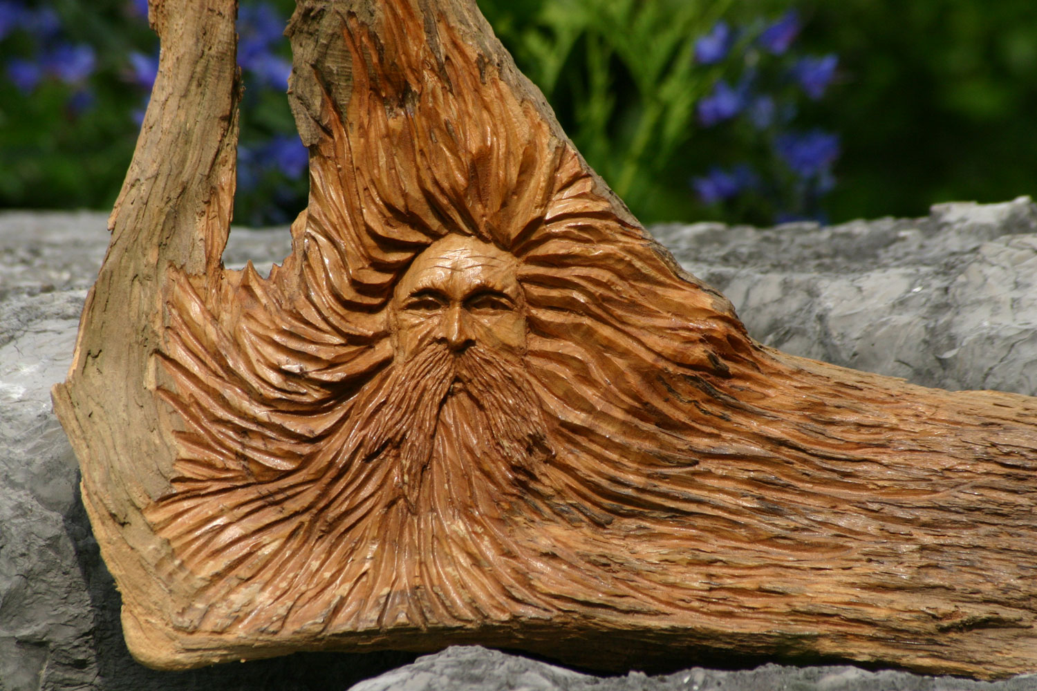 Wood Spirit Carving