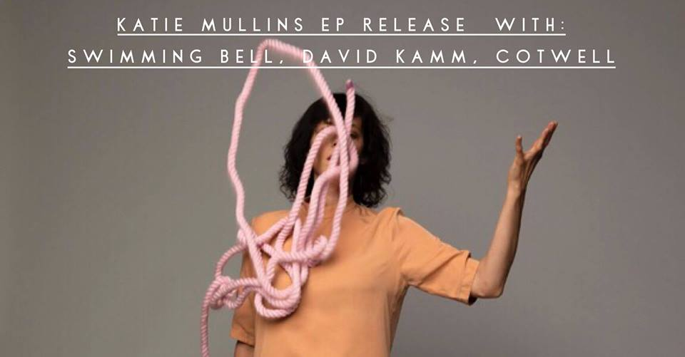 """Katie Mullins is a singer/ songwriter, but not in the way you might think"" -- John Schaefer, WNYC   And she's releasing a new EP:   https://katiemullins.bandcamp.com/   http://katiemullinsmusic.com/   Several of Katie's friends will be opening the night with mini sets, including:   Swimming Bell   https://www.swimmingbell.com/   David Kamm   https://kammville.bandcamp.com/   Cotwell  http://www.roarkemenzies.com/    $10 21+, 8pm doors  Trans-Pecos 915 Wyckoff Ave RIDGEWOOD, NY"