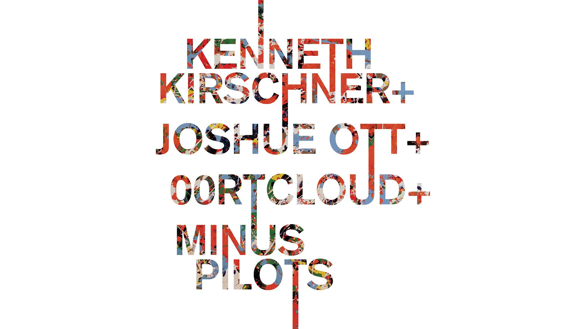 "Edition 5: Kenneth Kirschner, Joshue Ott, 00rtcloud, Minus Pilots  - - - - -  There will be a 7"" featuring music/art by the performing artists that will be limited to 5 individually numbered copies total. They will be given away via random draw and will only be available at this event.  - - - - -  Kenneth Kirschner The music of Kenneth Kirschner is situated at the intersection of contemporary classical composition and experimental electronic music. His work is characterized by a close integration of acoustic and electronic sound sources. Kirschner is based in Brooklyn, New York.  kennethkirschner.com   - - - - -  Joshue Ott Joshue Ott is a visualist and software designer who creates cinematic visual improvisations that are performed live and projected in large scale. Working from hand-drawn forms manipulated in real time with superDraw, a software instrument of his own design, Ott composes evolving images that reside somewhere between minimalism, psychedelia and Cagean chance.  Ott is based in Brooklyn, New York.  joshueott.com   - - - - -  00rtcloud 00rtcloud is a downbeat, ambient, drone and experimental project which involves Joshue Ott performing visuals with Superdraw, his custom freeform visualization software, and Todd Polenberg playing various synthesizers and found objects using slow and measured extended techniques. 00rtcloud are based in Brooklyn, New York.  toddpolenberg.com   00rtcloud.com   - - - - -  Minus Pilots Minus Pilots is percussionist Matt Pittori and bassist Adam Barringer. Touching the realms of modern classical, cinematic, post-rock and post-jazz to weave sparse textures, crumbling atmospheres and fractured drones with currents of gentle crackle. Minus Pilots are based in London, England.  minuspilots.com   - - - - -  8pm 