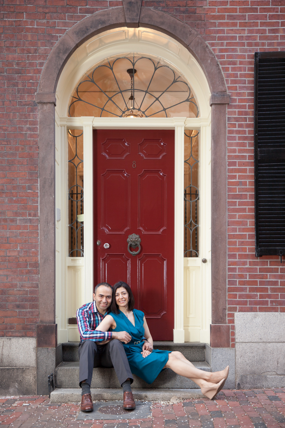 beacon-hill-boston-photo-shoot-married-couple-red-door-blue-dress.jpg