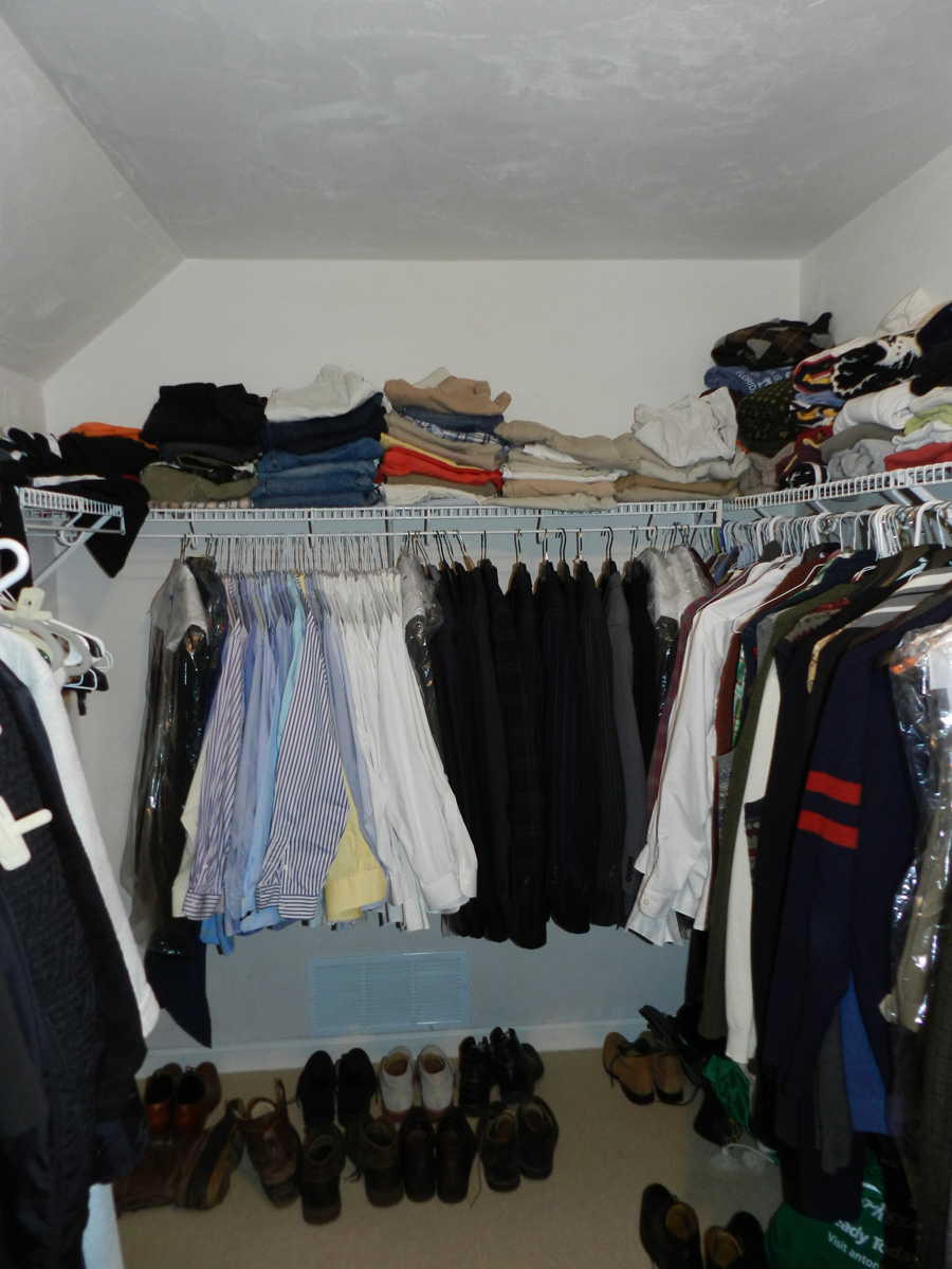 CLOSET BEFORE PHOTO