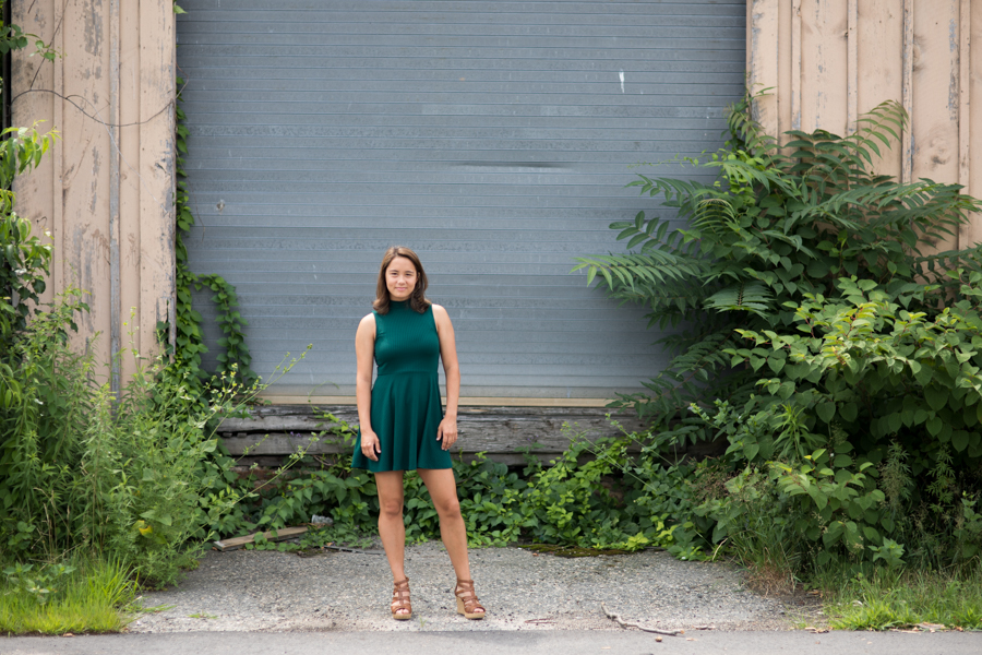 Those greens and that dress! Sneak from Senior Rep Alena's session last week. Love her look
