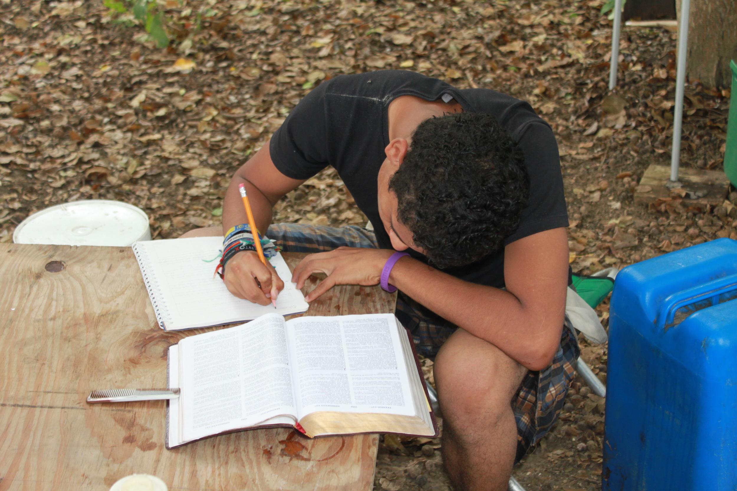 Bible study at the beach Snaider.jpg