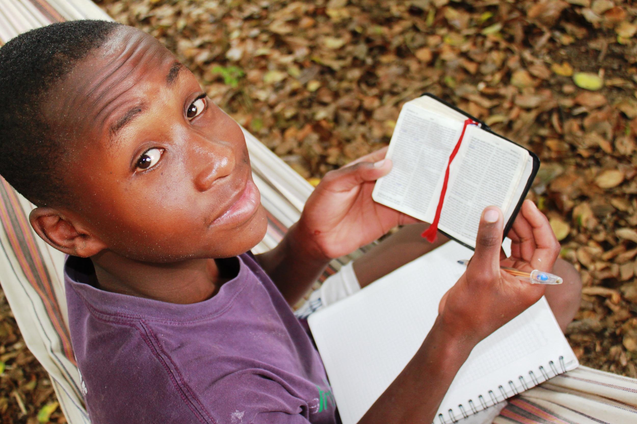 Joel reading God's word.jpg