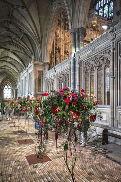 Flower Festival Winchester Cathedral