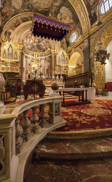Co-Cathedral Valetta Malta