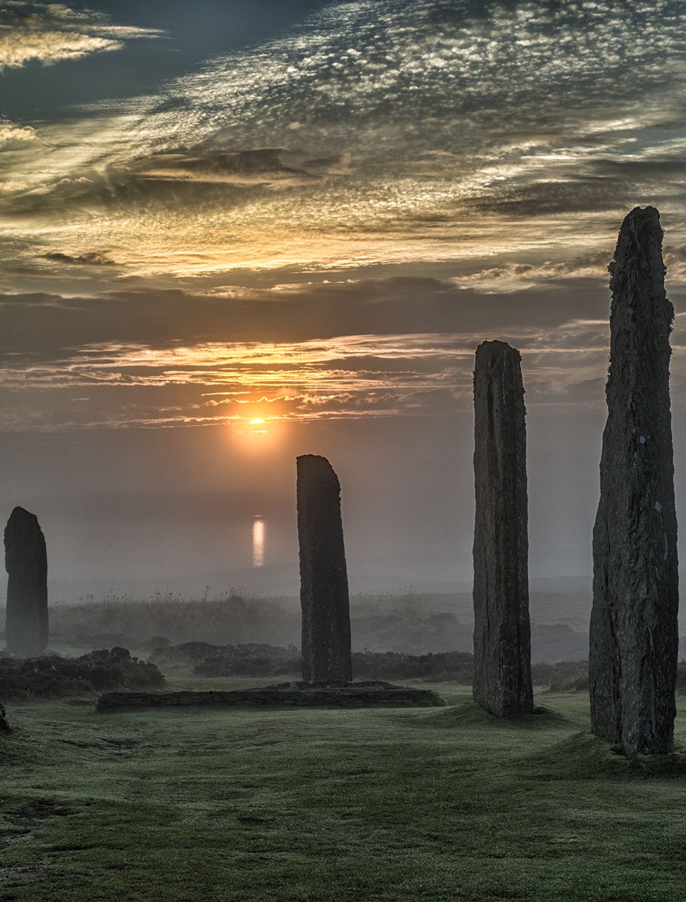 Sunrise at The Ring of Brodgar