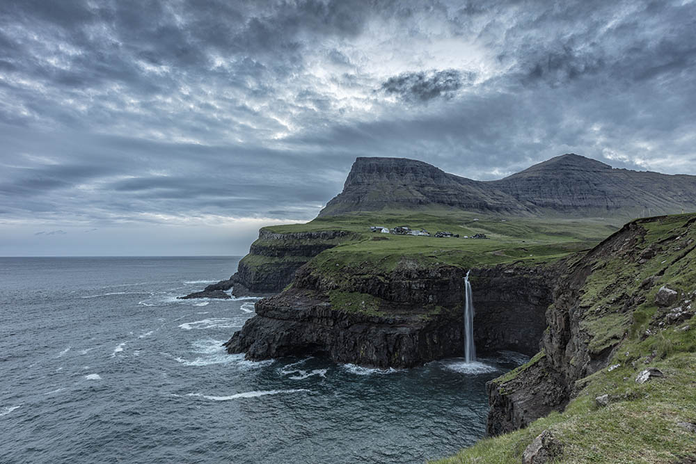 Evening Light Faroe Islands
