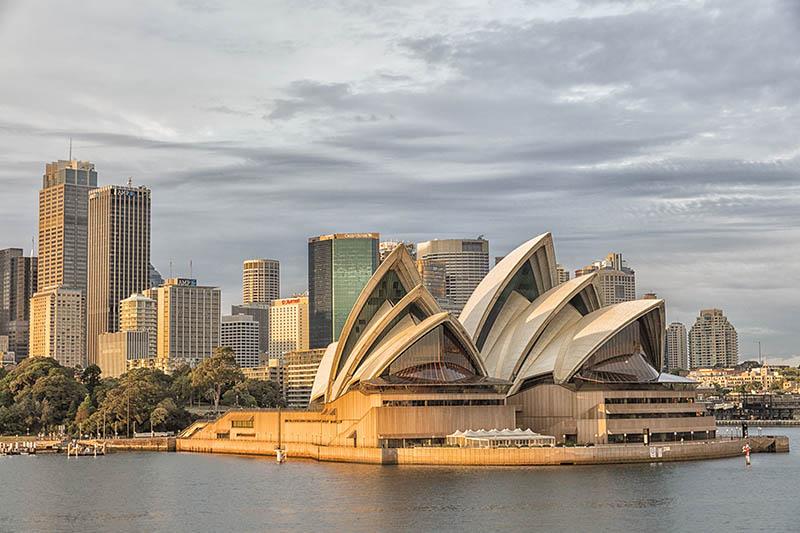 Sunrise on Sydney.Harbour NSW