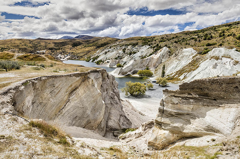 Abandoned Goldfield St Bathans S.I NZ