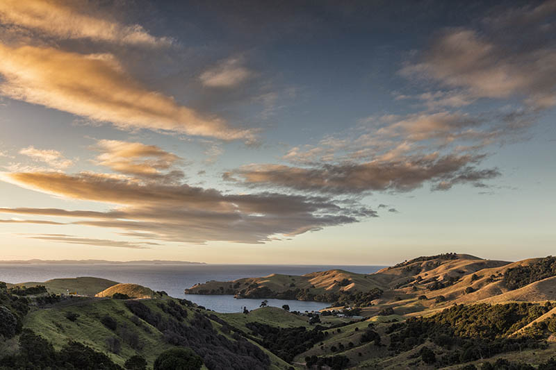 Sunset Coromandel Peninsula