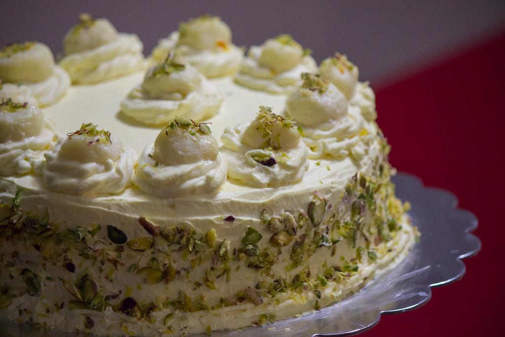 Rasmalai Cake