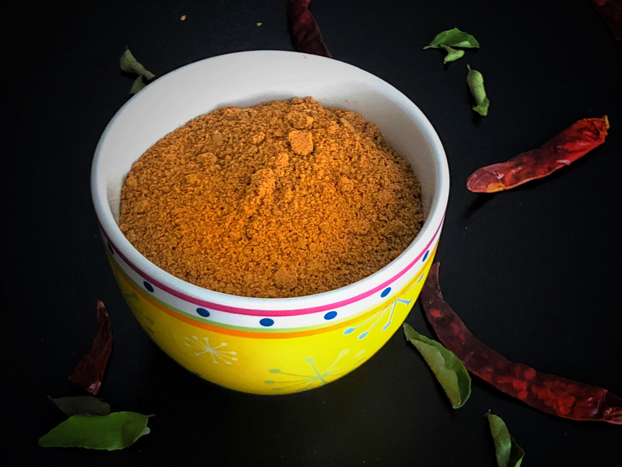 Dry Chutney Powder or Chutney Podi
