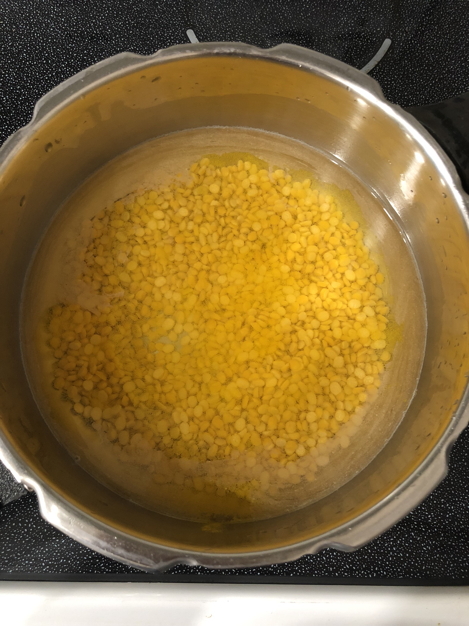 Chana Dal ready to cook
