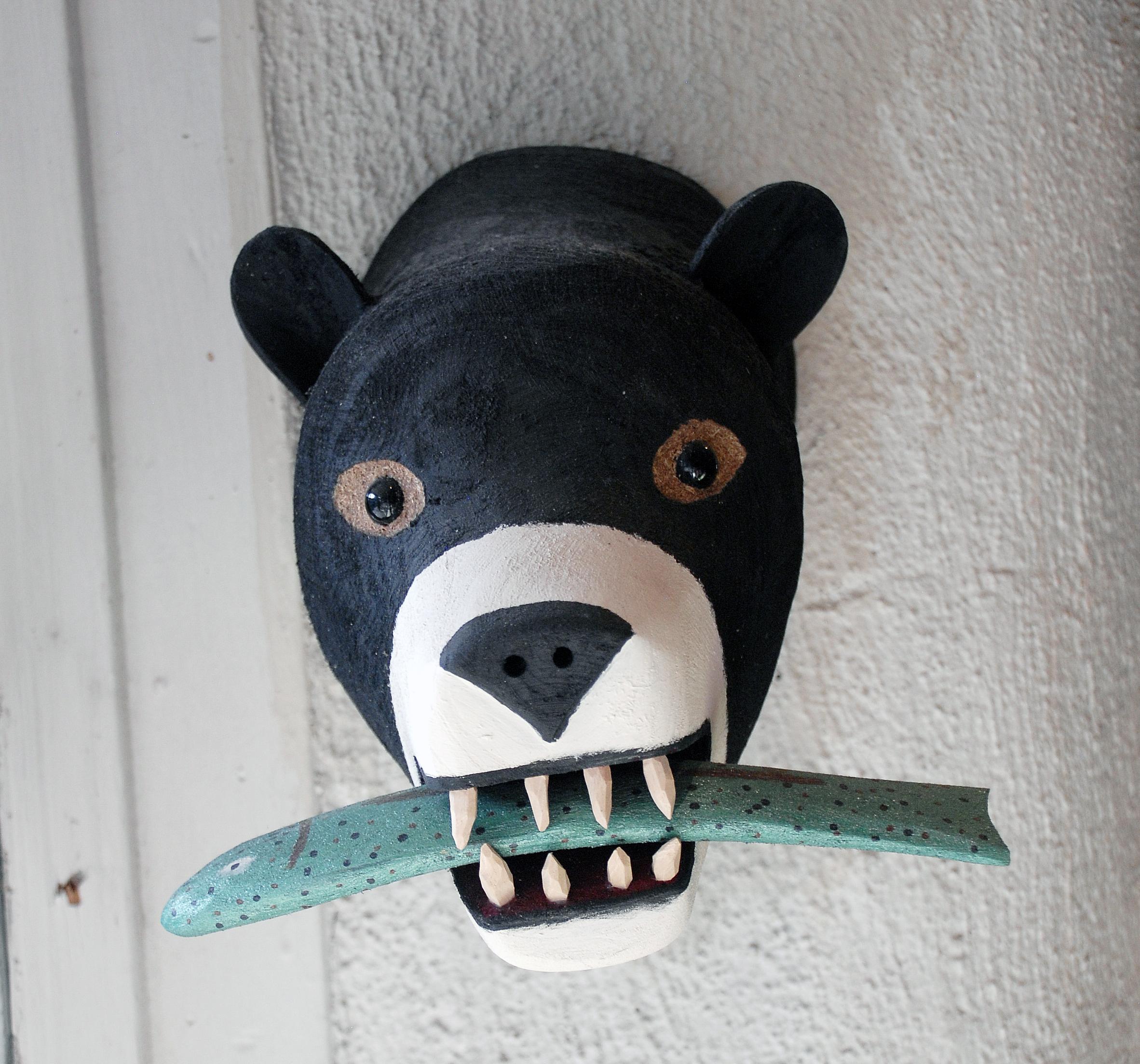 Bear head with fish in window.jpg
