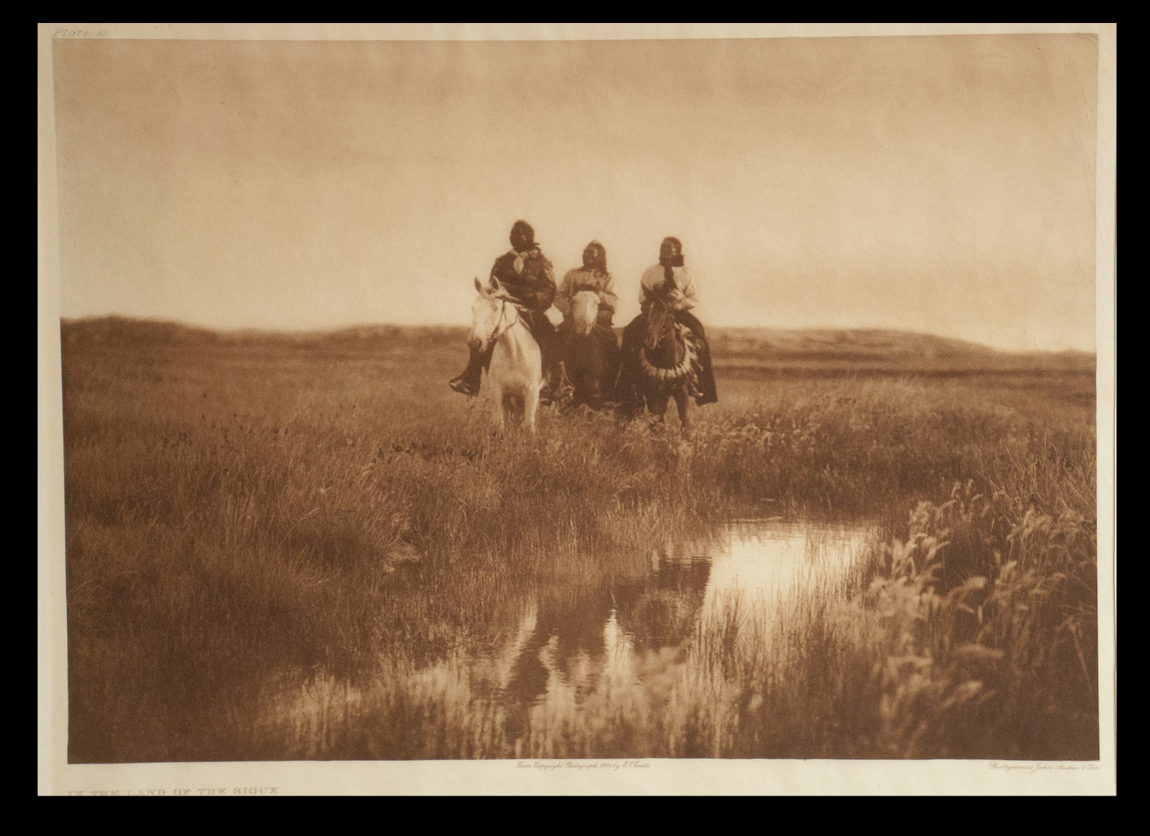 "Plate #95 ""In the Land of the Sioux"" 1905 Portfolio 3"