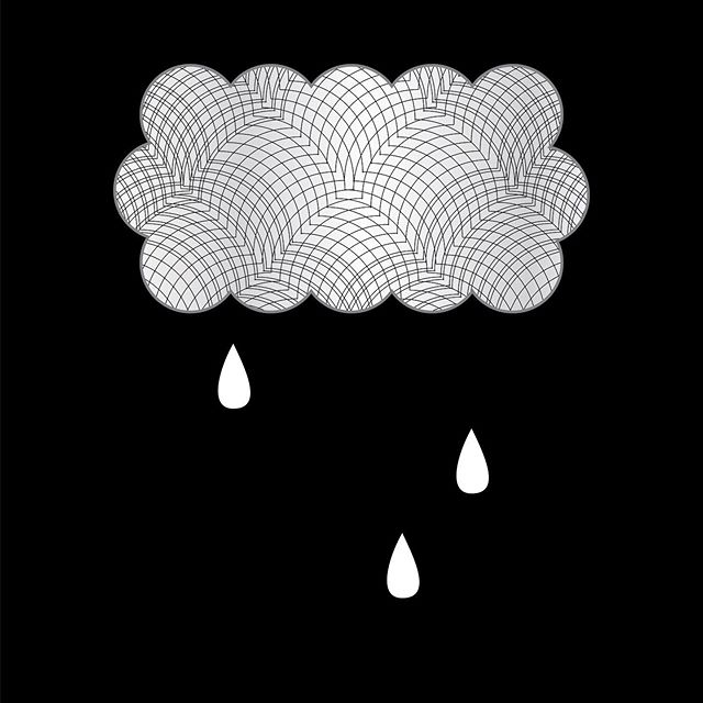 Gloomy morning doodle  #adobe #illustrator #adobeillustrator #cloud #rain #design #graphicdesign #hoshtag