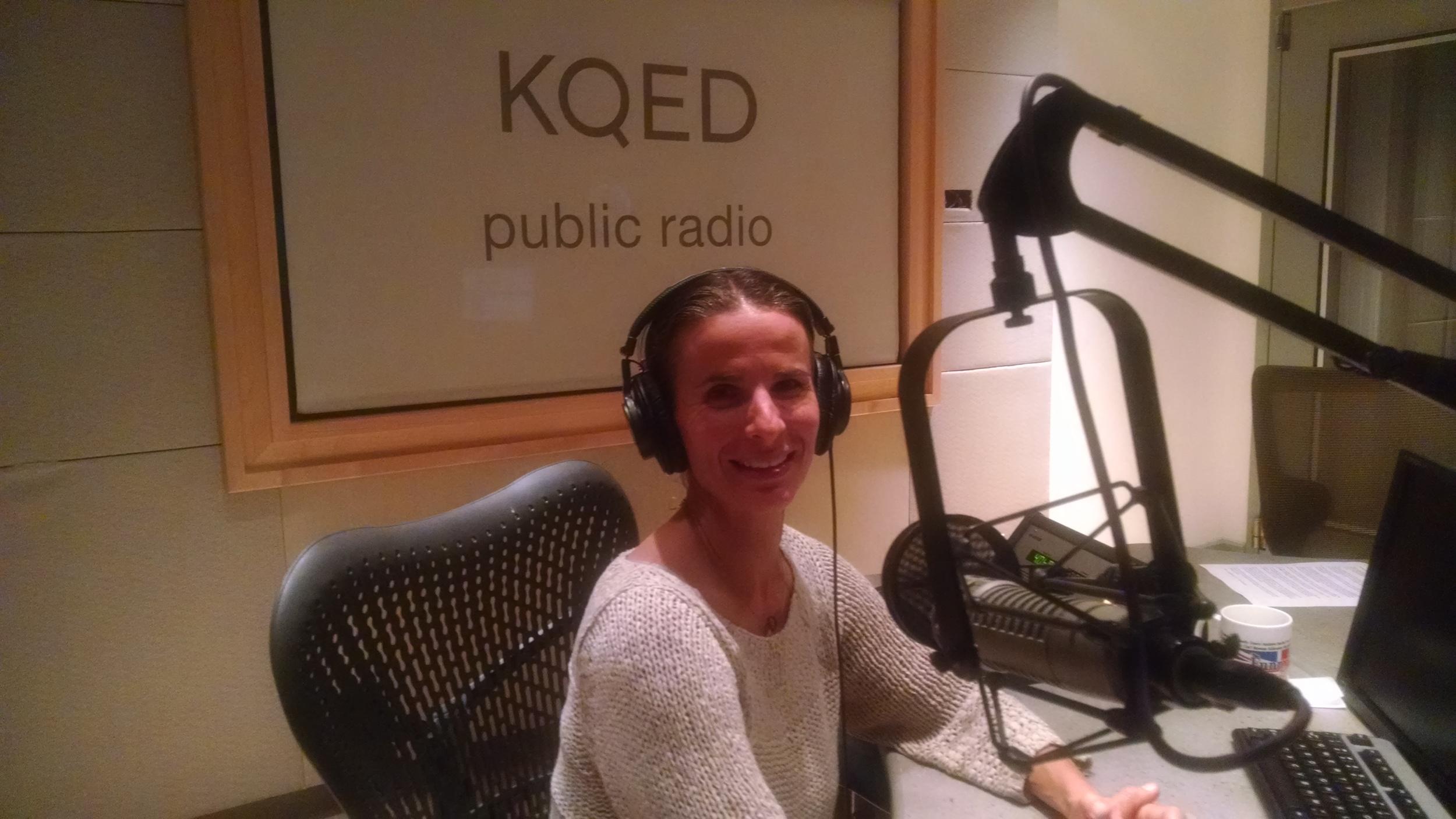 """KQED Public Radio. Dr. Erica Reischer: """"The Secret to Changing Your Kids' Behavior"""""""