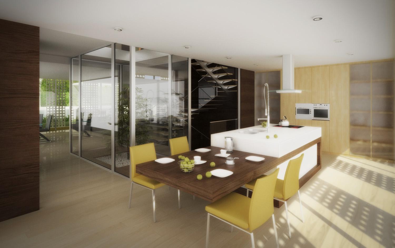 Cozinha - Moradia Gaia - EVA | evolutionary architecture