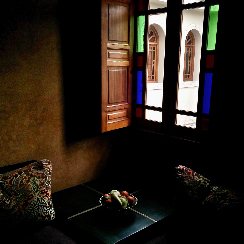 #4 - The beautiful Riad Andalib hotel in Fez.