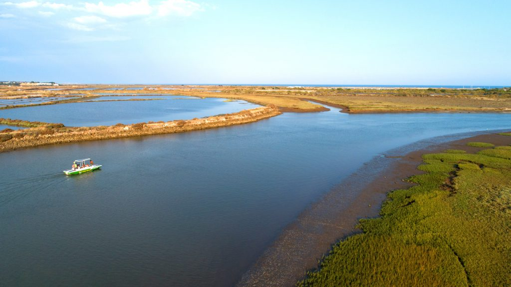 Visiting the Ria Formosa Natural Park on a Solar Boat. What better way to end your Summer?