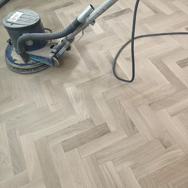 Friday fun day #floors #herringbone #herringbonefloor