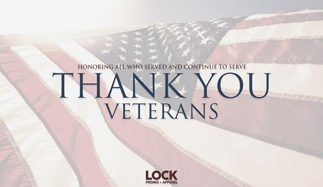 Honoring all those who have served and continue to serve, thank you. ... #LockPromo #VeteransDay #Veterans #ThankYou #Honor #Service #Duty