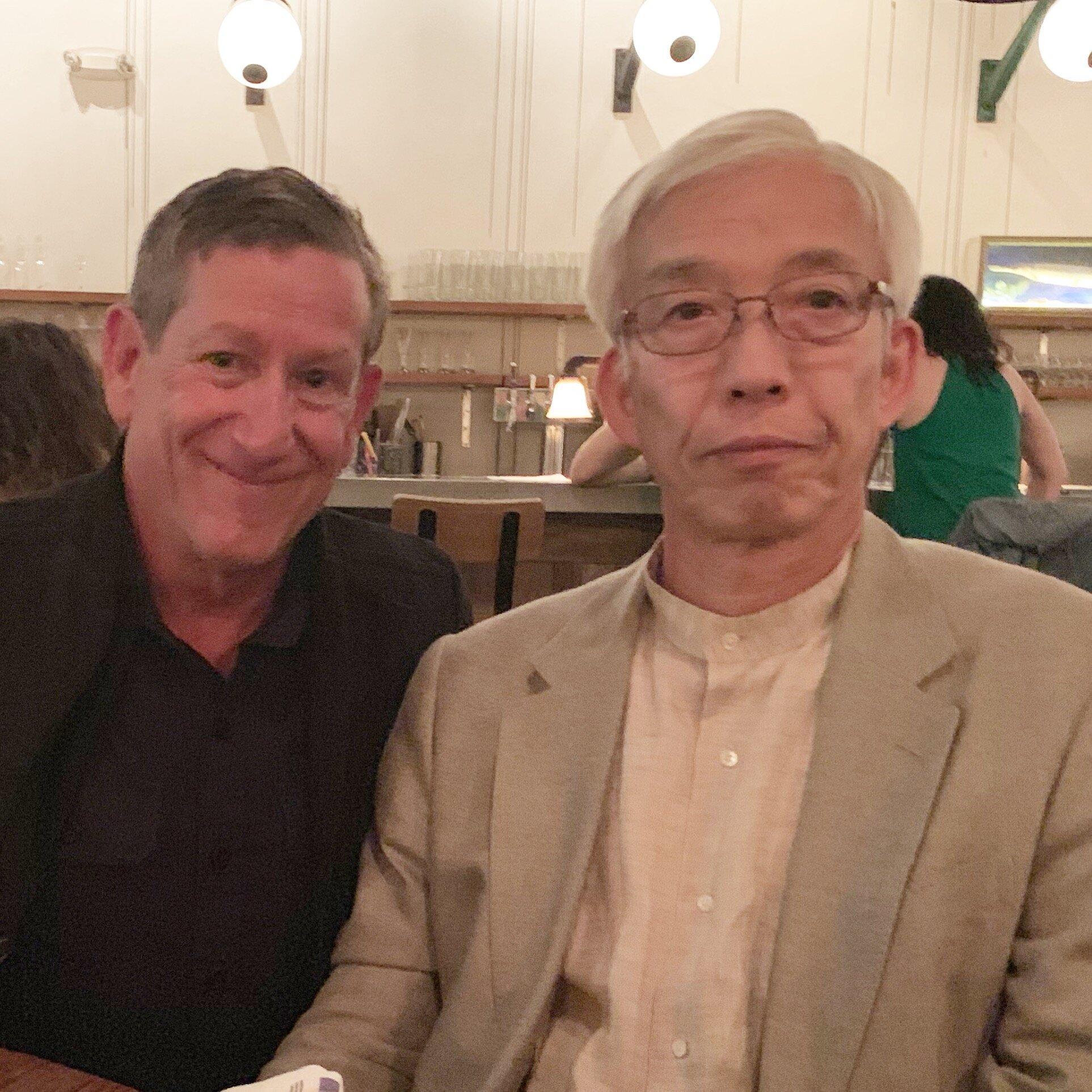Doshu & Friedman Sensei.  Photos by Anne Lee, ©  Aikido Journal.