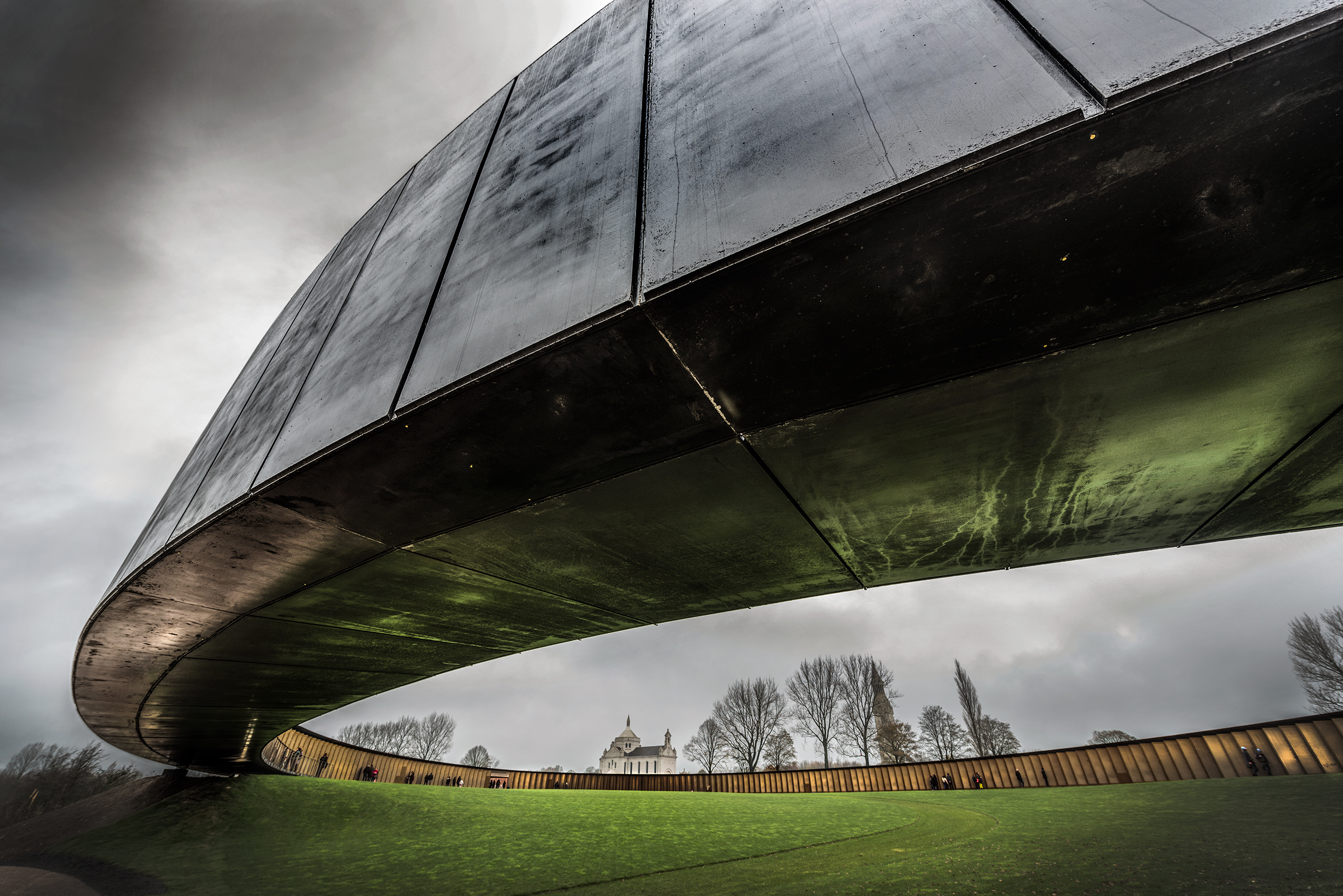 architectural photography - phillippe prost - ring of remembrance