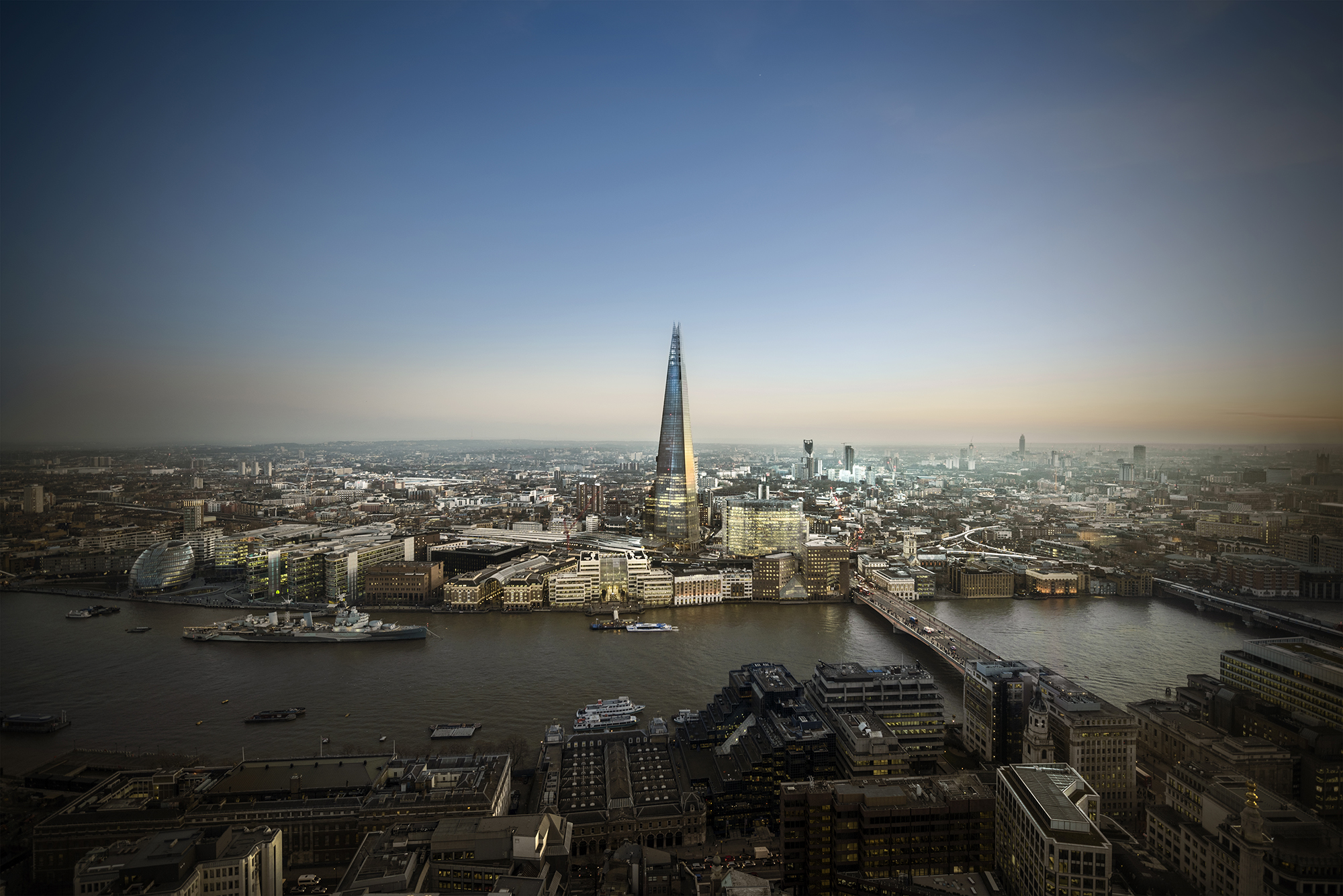 London aerial photography - South London cityscape.jpg