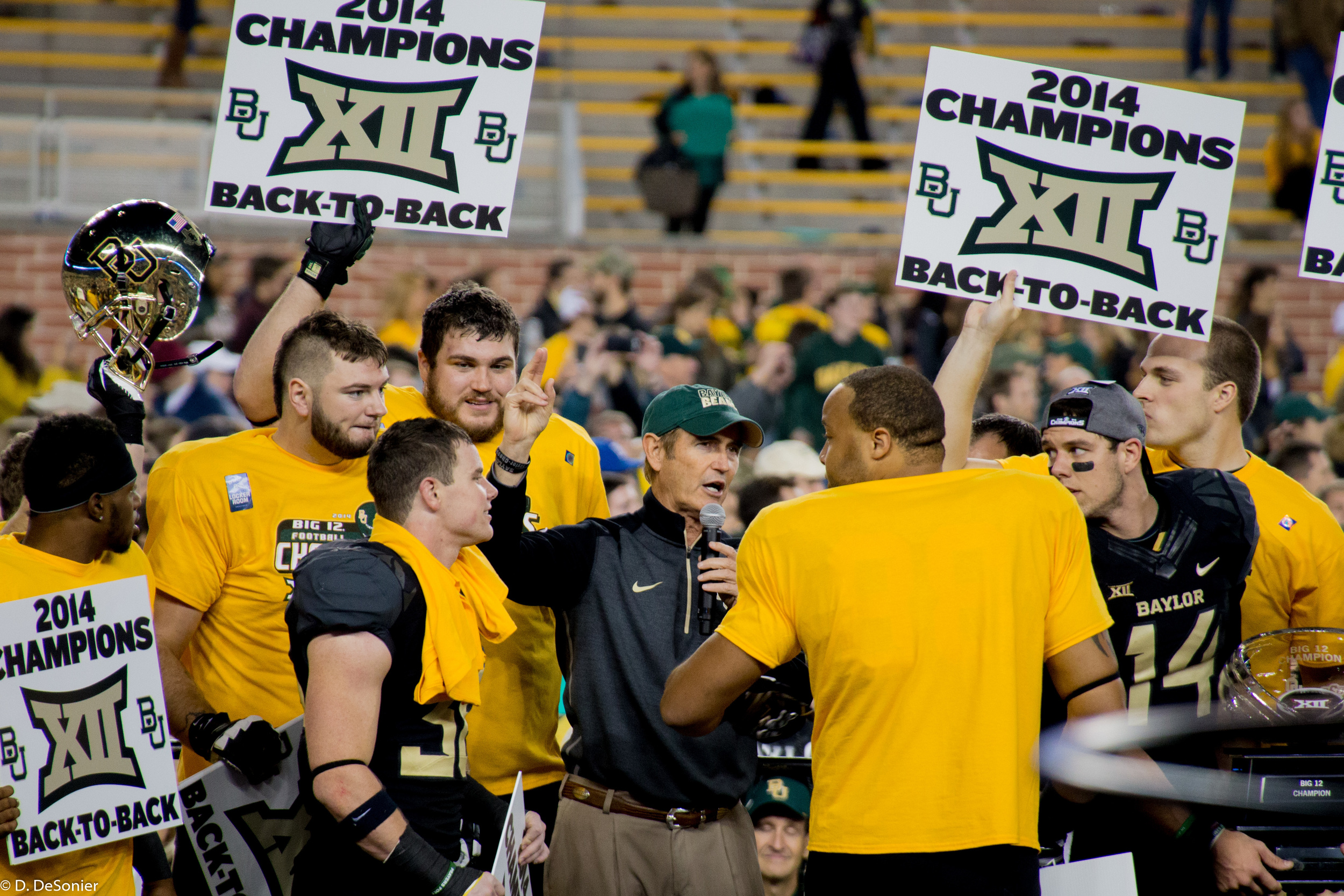 Big 12 champs -- second year in a row!