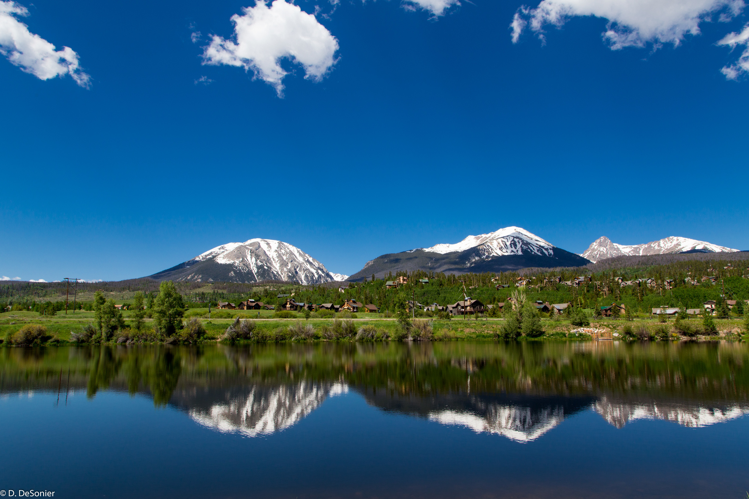 Buffalo Mountain from The Ponds in Silverthorne