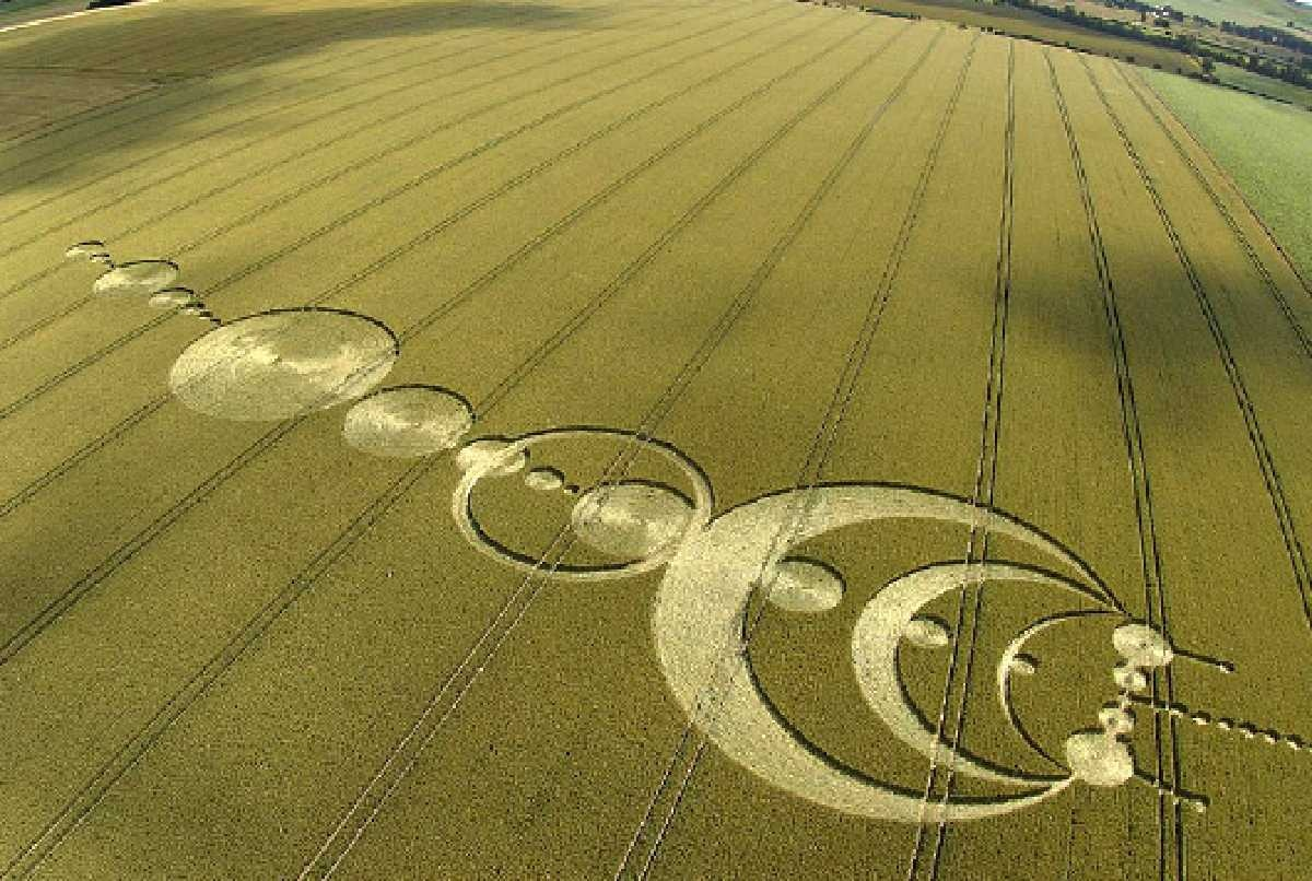 Crop circle.