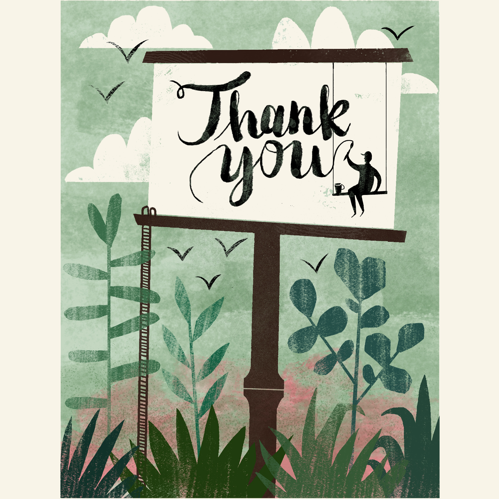 Sign Painter for Groundswell Greetings , 2017,  available here