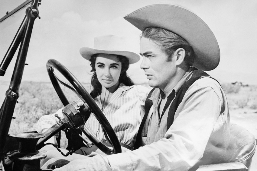GIANT MOVIE -  JAMES DEAN and ELIZABETH TAYLOR POSTER.jpg