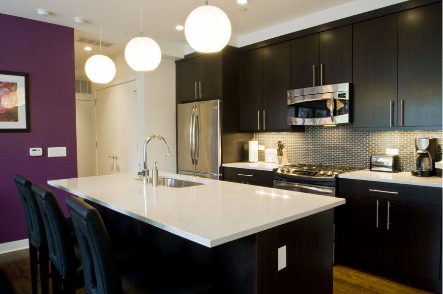 Premier unit with amenities