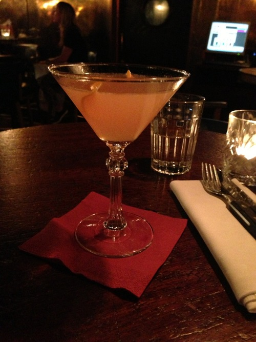 Marmalade Cocktail (Gin, Lemon, Campari, Marmalade)