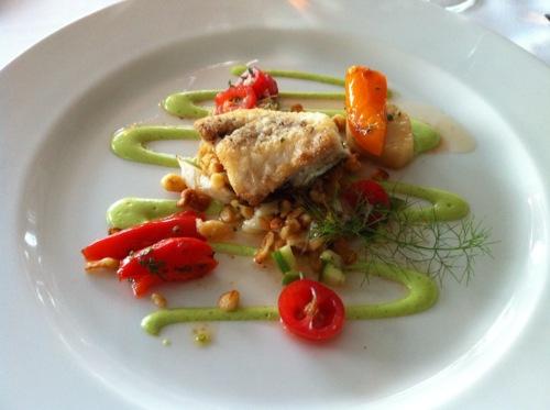 Panfried Silver Grey Rockfish