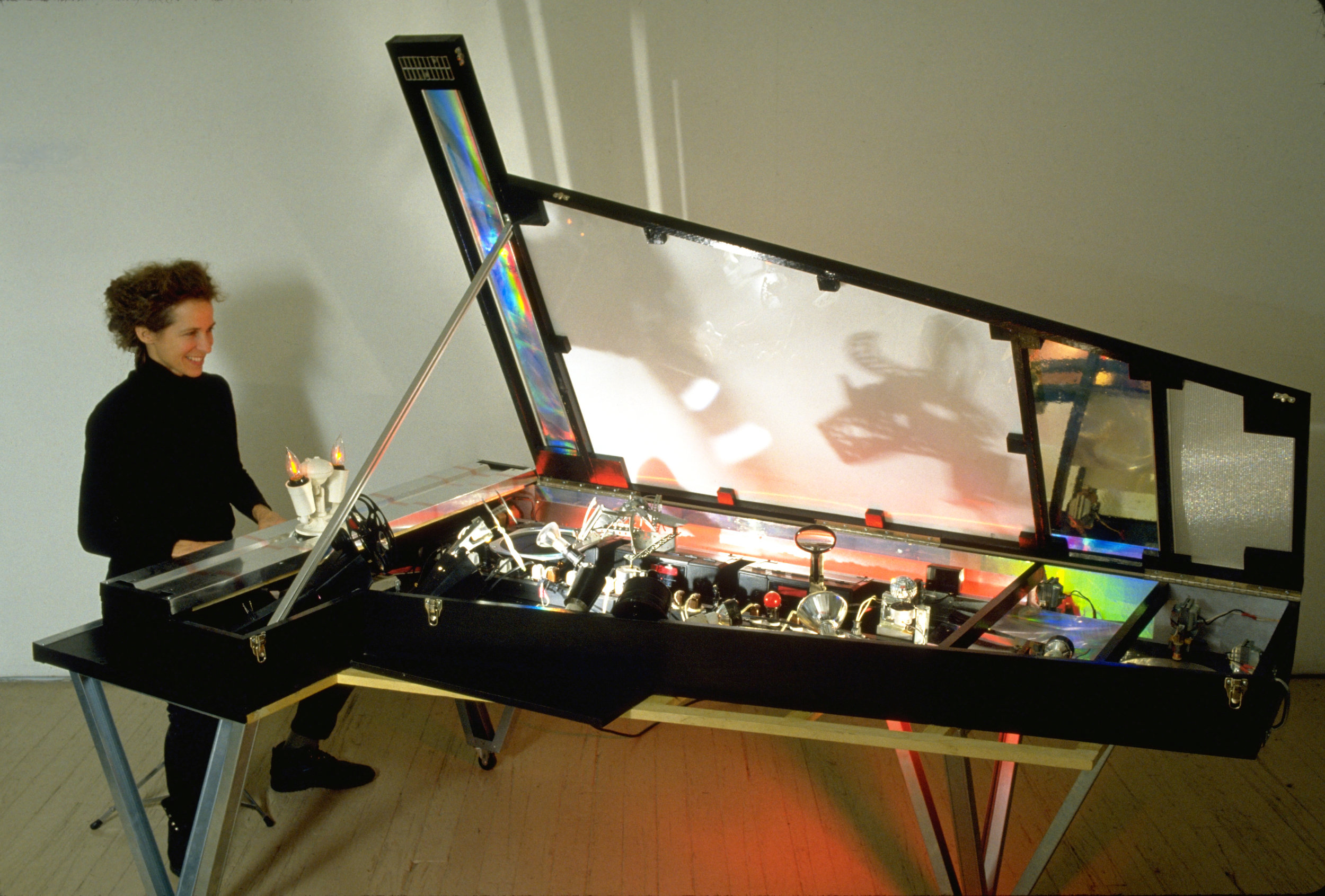'Urban Grand Piano' , 1998, 72 x 48 x 89(with top open)
