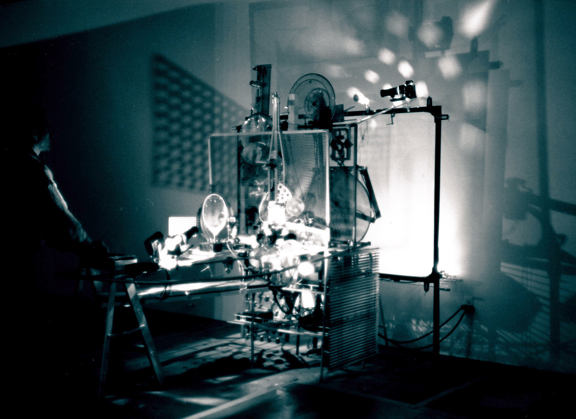 ' Cybernetic Keyboard ', size variable, Test-Site Gallery, Brooklyn, 1992